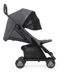 Nuna Pepp Stroller with Dream Drape in Graphite Side