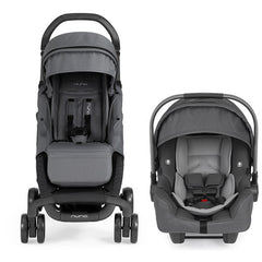 Nuna Pepp and Pipa Travel System Graphite