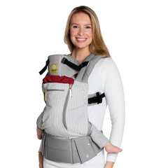 Líllébaby COMPLETE All Seasons Baby Carrier -Breton Stripes (NEW with Pockets)