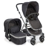 Baby Roues Letour II Stroller - Black (Frosted Frame)