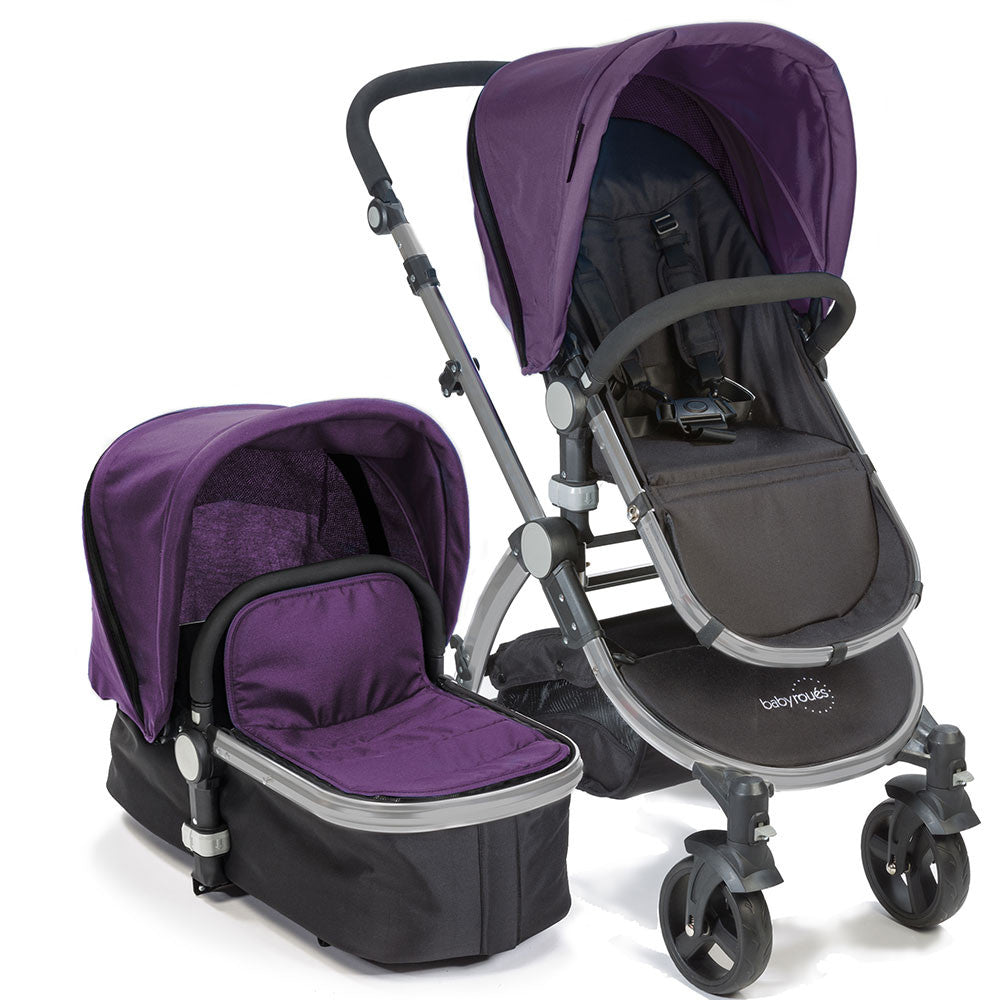 Baby Roues Letour II Stroller - Purple (Frosted Frame)