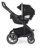 Nuna Mixx2 with Nuna Pipa Car Seat Attached