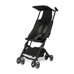 GB Pockit Stroller in Monument Black