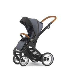 Mutsy Evo Industrial Stroller - Grey with Black Frame