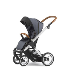 Mutsy Evo Industrial Stroller - Grey with Silver Frame