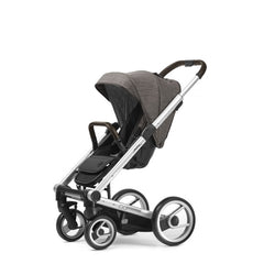 Mutsy Igo Farmer Stroller - Earth with Silver Frame