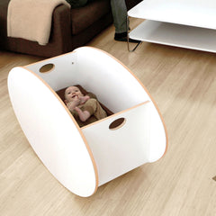So-Ro Contemporary Cradle - White