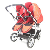 StrollAir My Duo Double Stroller - Red