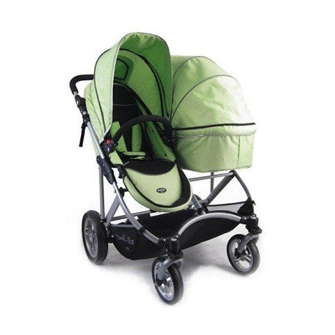 StrollAir My Duo Double Stroller - Green