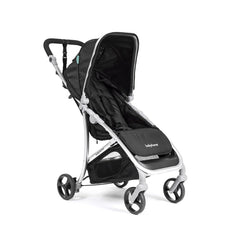 Babyhome Vida Light Weight Stroller Silver Frame - Black