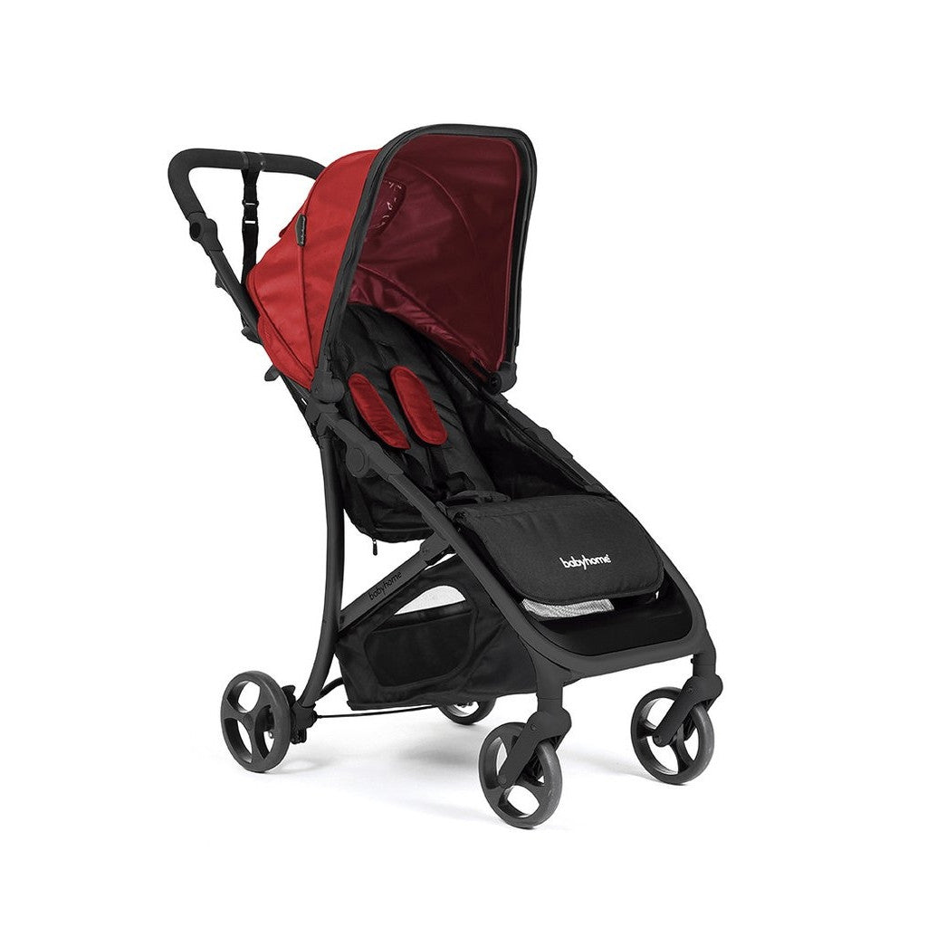 Babyhome Vida Light Weight Stroller Black Frame - Red
