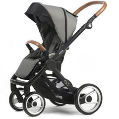 Mutsy Evo Urban Nomad Stroller - Light Grey with Black Frame