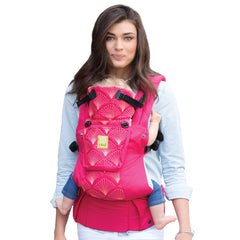 Lillebaby Complete Embossed Baby Carrier - Coral Seashells