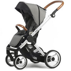 Mutsy Evo Urban Nomad Stroller - Light Grey with Silver Frame