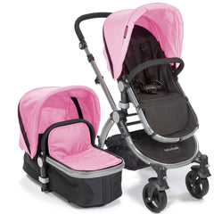 Baby Roues Letour II Stroller - Pink (Frosted Frame)