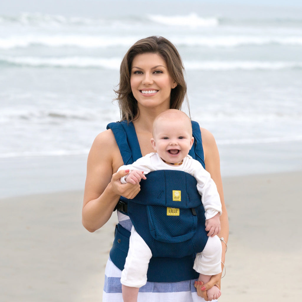 Lillebaby Complete Airflow Baby Carrier  - Navy (NEW w/ Pockets)