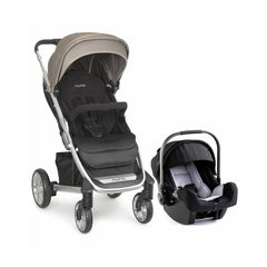 Nuna Tavo and Pipa Travel System - Aluminum Night