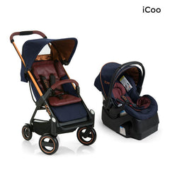 I'coo Acrobat and IGuard35 Travel System - Copper Blue