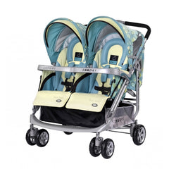 Zooper Tango Smart Double Stroller - Summer Day
