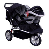 Tike Tech City X3 Double Swivel Stroller
