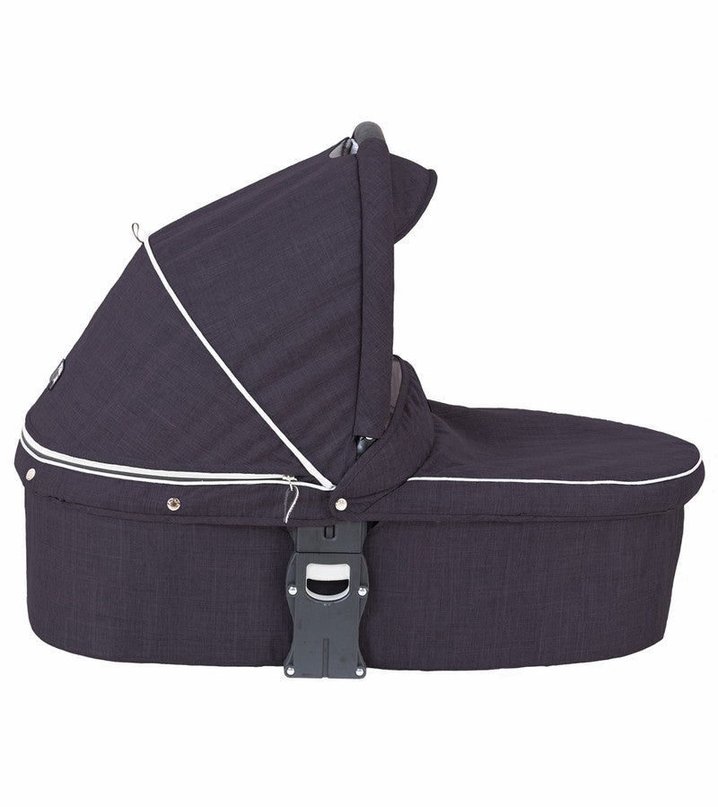Valco Baby Snap Ultra Bassinet - Black Night