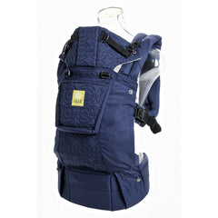 Lillebaby Complete Embossed Baby Carrier - Blue Circles