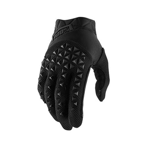 GUANTI 100% AIRMATIC YOUTH BLACK/CHARCOAL