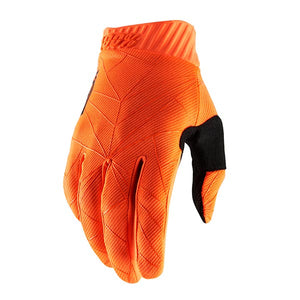 GUANTI 100% RIDEFIT FLUO ORANGE/BLACK