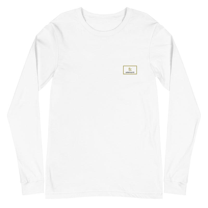 Frosty Chainz White Gold Logo Long Sleeve Tee