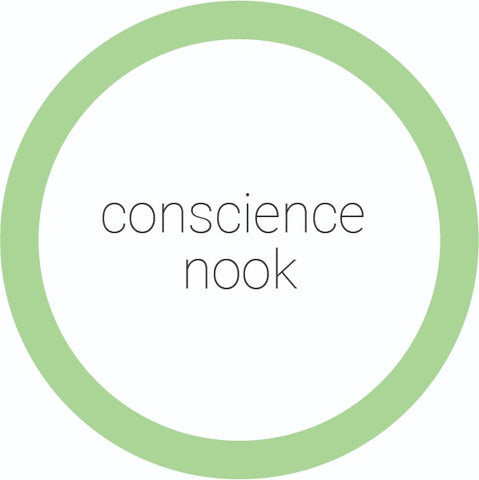 Buy online Conscience Nook products on Conscience Nook 100% plastic-free Marketplace.