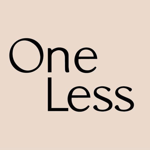Buy online One Less products on Conscience Nook 100% plastic-free Marketplace.