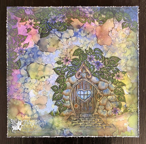 "Fairy Hugs - Backgrounds - 6"" x 6"" - Playground"