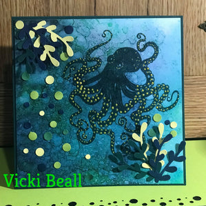 "Fairy Hugs - Backgrounds - 6"" x 6"" - Under The Sea"