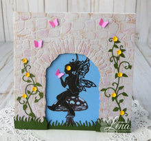Load image into Gallery viewer, Fairy Hugs Stamps - Leafy Scrolls