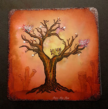 Load image into Gallery viewer, Fairy Hugs Stamps - Moon Tree