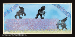 Fairy Hugs Stamps - Stone Wall