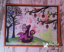 Load image into Gallery viewer, Fairy Hugs Stamps - Skinny Bare Tree (Tall)