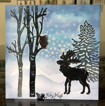 Load image into Gallery viewer, Fairy Hugs Stamps - Moose Set