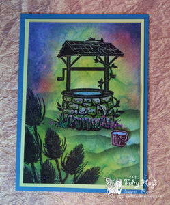 Fairy Hugs Stamps - Wishing Well
