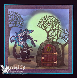 Fairy Hugs Stamps - Skinny Bare Tree (Short)
