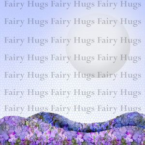"Fairy Hugs - Backgrounds - 6"" x 6"" - Moon Light"