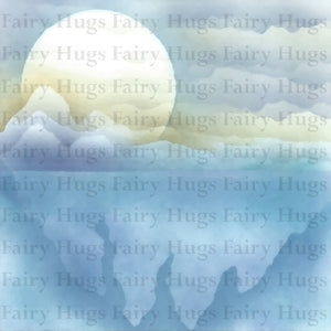 "Fairy Hugs - Backgrounds - 6"" x 6"" - Frozen"