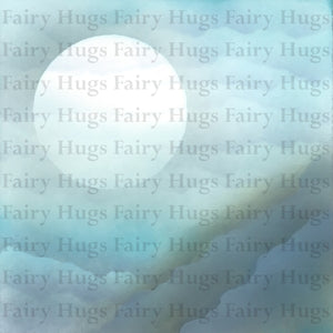 "Fairy Hugs - Backgrounds - 6"" x 6"" - Cliff View"