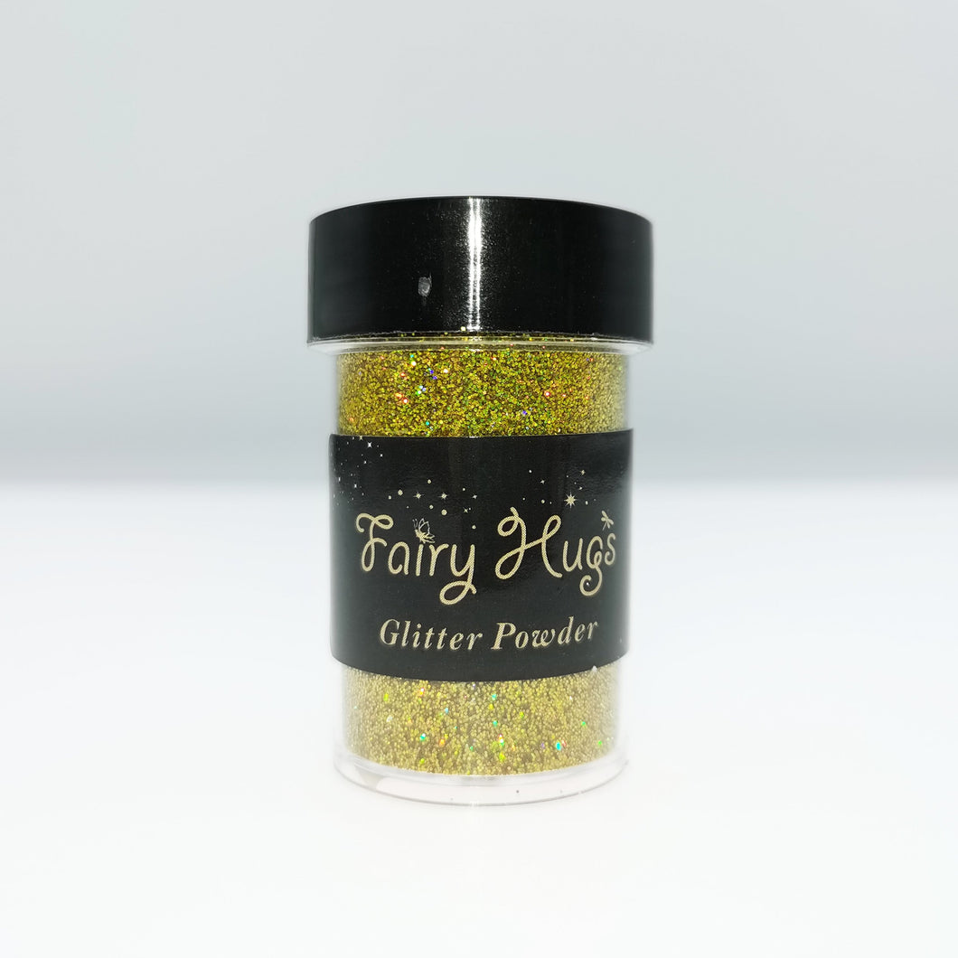 Fairy Hugs - Glitter Powder - Golden Nugget