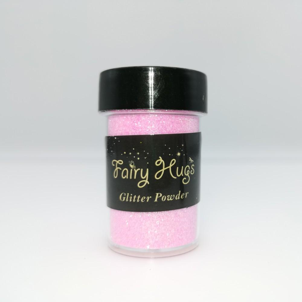 Fairy Hugs - Glitter Powder - Translucent - Flamingo
