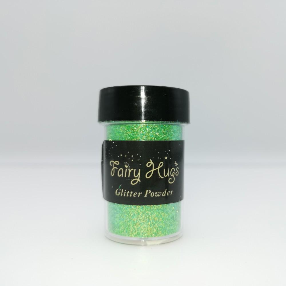 Fairy Hugs - Glitter Powder - Translucent - Parakeet