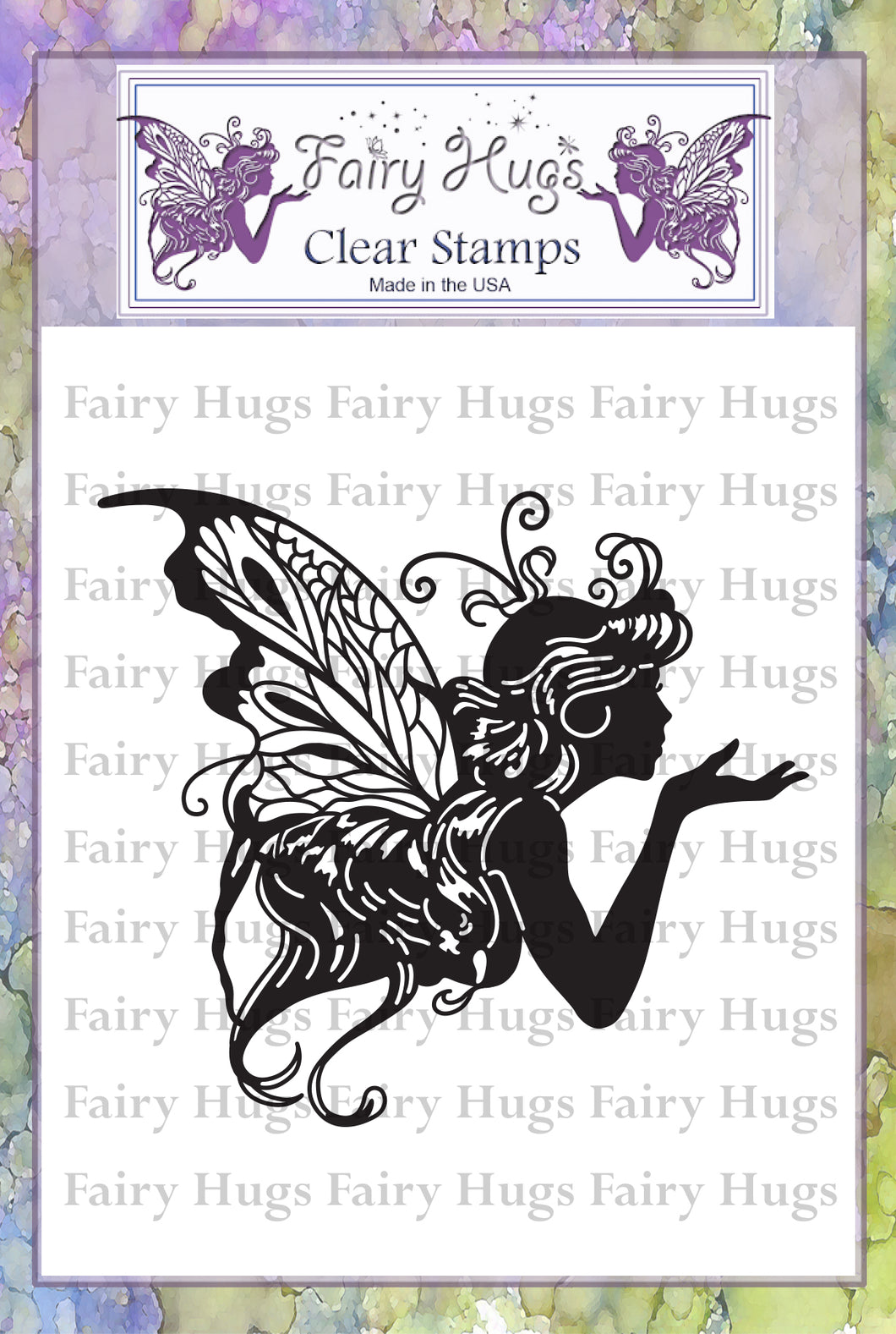 Fairy Hugs Stamps - Kissing Fairy