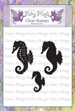Load image into Gallery viewer, Fairy Hugs Stamps - Seahorses