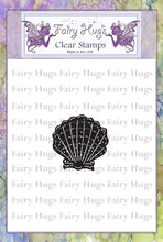 Load image into Gallery viewer, Fairy Hugs Stamps - Mini Scallop Shell