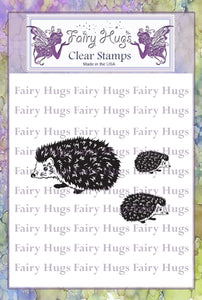 Fairy Hugs Stamps - Hedgehog